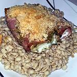 recette Filet de lieu noir en-lardé au four