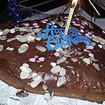 recette Gâteau au chocolat et a la framboise