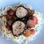 recette Filet mignon en croûte d'algues et radis roses