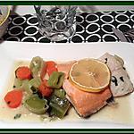 recette Gratin marin sur lit de légumes sauce moutarde