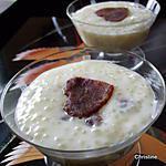 recette Perle du Japon parfun de rose et pâte de dattes