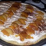recette Tarte au pèche façon tiramisu