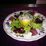 recette citron farci,magret canard mozzarella,betterave