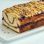 recette Gâteau du matin vanille framboises amandes