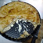 recette Ma tourte poulet-champignons-crème