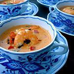 recette EXCELLENTE SOUPE AUX CREVETTES