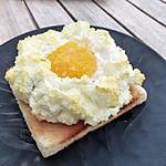 """recette L'œuf nuage ou le """"cloud egg"""""""