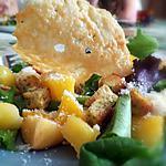 recette Salade exotique MPP ( Mangue Pomme Parmesan)