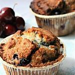 recette Muffins myrtilles -coco, Bio, sans gluten sans oeufs