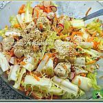 recette Salade friseline au poulet, radis et carottes