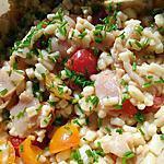 recette Salade de crozets