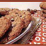 recette Cookies à la purée de noisettes