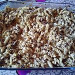 recette gratin torsades epinard champignon rapide