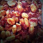 recette Gnocchis à la sauce tomate