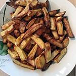 recette Frites au four maison au curry
