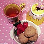 recette Gâteaux de semoule aux fraises