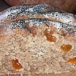 recette pain semi complet aux abricots