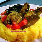 recette SOSSO MAÏS..... semoule de maïs ( similaire  à la Polenta)