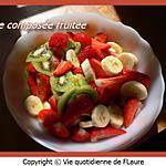 recette Salade composée fruitée