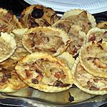 recette Minis quiches lardons oignons