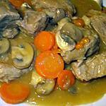 recette Blanquette de veau express