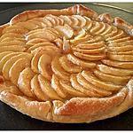 recette Tarte aux pommes - 24 cm – 4 pers