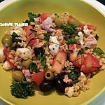 recette Salade de blé