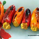 recette Mini-poivrons farcis au thon (compatible dukan)