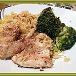 recette Filets de Dinde et Semoule au Curry