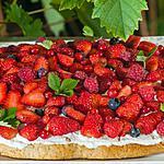 recette Shortcake à la ricotta et aux fruits rouges