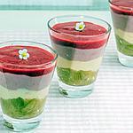 recette Verrine rhubarbe framboise