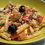 recette Salade de pâtes froides