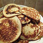 recette Pancakes  au lait de coco sans gluten
