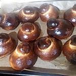 recette Brioscia co tuppu ( brioche avec chignon )