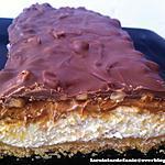 recette Tiramisu caramel, cacahuètes et chocolat façon snickers