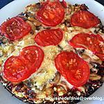recette Pizza viande hachée, tomate et fromage sans pâte (compatible Dukan)