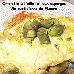 recette Omelette à l'aillet et aux asperges