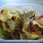 recette chips maison aromatisé