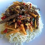 recette Boeuf sauté aux épices et légumes fondants (compatible dukan)