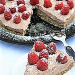 recette Tarte mi-crue cerises et framboises, bio  {SANS GLUTEN / SANS LAIT / SANS OEUFS}