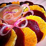 recette SALADE d'ORANGE & BETTERAVE ROUGE
