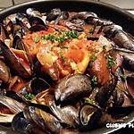 recette Moules sauce tomate