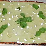 recette Tarte façon mojito au thermomix