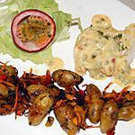 recette Poisson sauce passion du blog cccuisine.over-blog.com