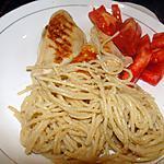 recette Poulet et spaghetti au sésame