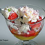recette Glace à la rhubarbe