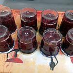 recette Confiture de cerise