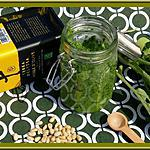 recette Pesto de fanes de radis