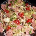 recette Salade de riz a la parisienne
