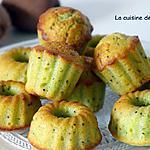 recette Muffin kiwi aux amandes